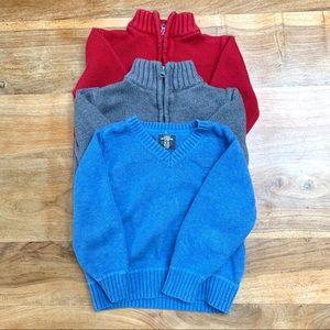 ❤️ ⚡️LOT⚡️ Osh Kosh Sweater Lot of 3